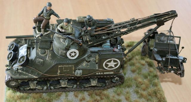 US Tank Recovery Vehicle M31