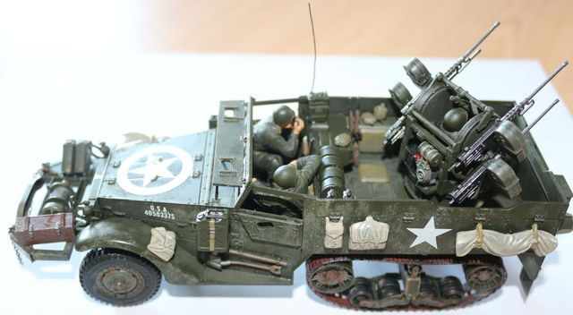 US Half Track M16 multiple gun motor carriage