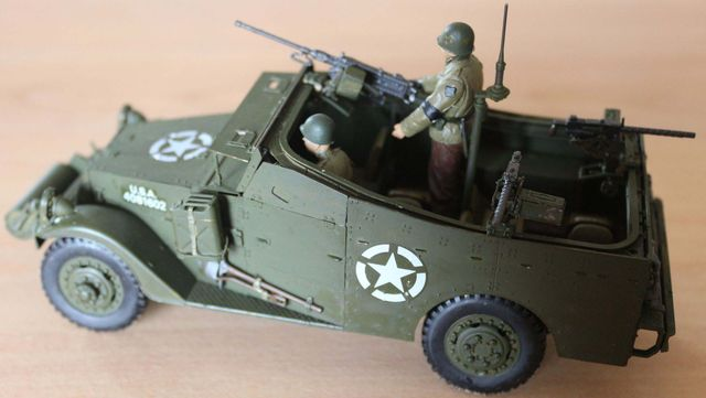U.S. M3A1 White Scout Car
