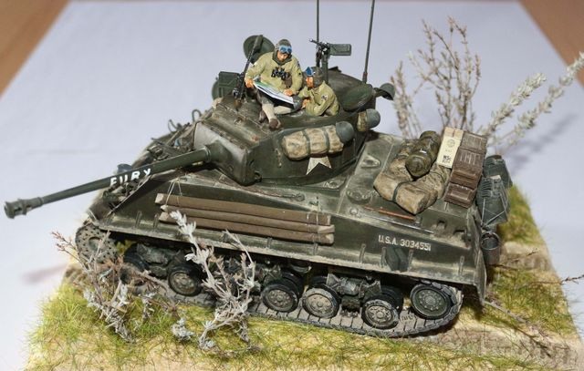 Sherman M4A3E8  Fury