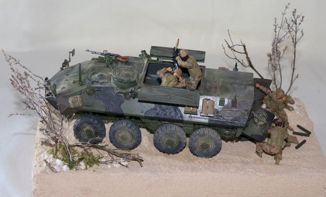 LAV M (Mortar Carrier Vehicle)
