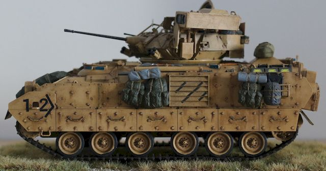 M2A2 Bradley AIFV (Armored Infantry Fighting Vehicle)