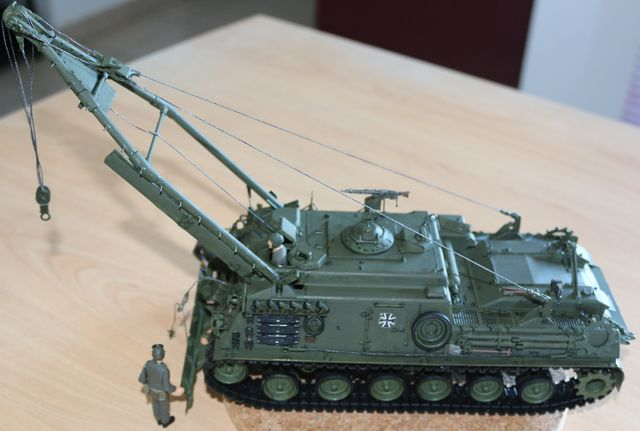 M88 Armored Recovery Vehicle  M88A1G Bergepanzer